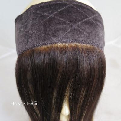 Lace Grip Band Virgin Hair 14'' Velvet Bands Glueless