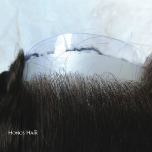 Full Poly Skin V loops Hair Replacement System 1B